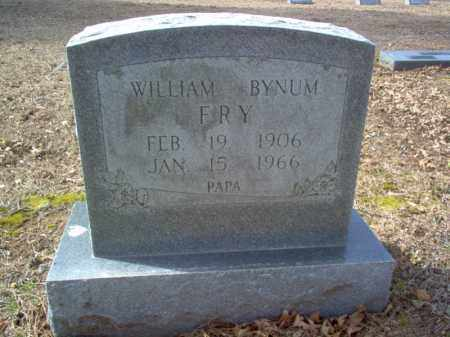 FRY, WILLIAM BYNUM - Cross County, Arkansas | WILLIAM BYNUM FRY - Arkansas Gravestone Photos