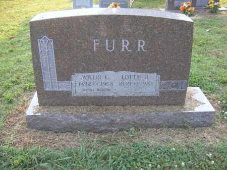 FURR, WILLIS C - Cross County, Arkansas | WILLIS C FURR - Arkansas Gravestone Photos