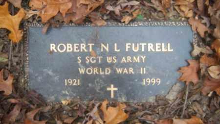 FUTRELL (VETERAN WWII), ROBERT N L - Cross County, Arkansas | ROBERT N L FUTRELL (VETERAN WWII) - Arkansas Gravestone Photos