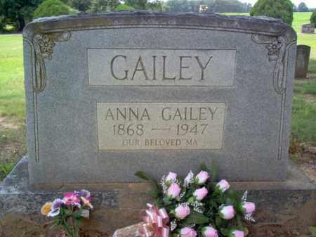 GAILEY, ANNA - Cross County, Arkansas | ANNA GAILEY - Arkansas Gravestone Photos