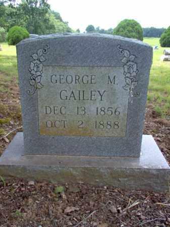 GAILEY, GEORGE M - Cross County, Arkansas   GEORGE M GAILEY - Arkansas Gravestone Photos