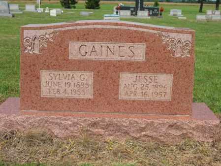 GAINES, SYLVIA G - Cross County, Arkansas | SYLVIA G GAINES - Arkansas Gravestone Photos
