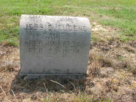GAINES, JESSIE EUGENE - Cross County, Arkansas   JESSIE EUGENE GAINES - Arkansas Gravestone Photos