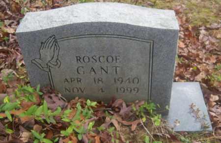 GANT, ROSCOE - Cross County, Arkansas | ROSCOE GANT - Arkansas Gravestone Photos