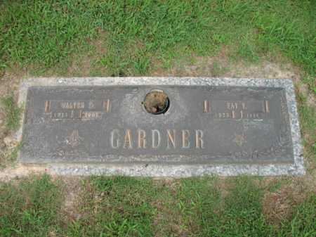 GARDNER, FAY V - Cross County, Arkansas | FAY V GARDNER - Arkansas Gravestone Photos