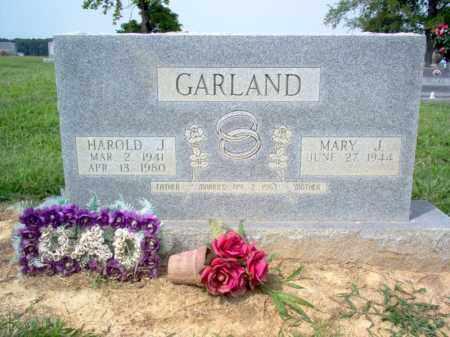 GARLAND, HAROLD JOSEPH - Cross County, Arkansas   HAROLD JOSEPH GARLAND - Arkansas Gravestone Photos