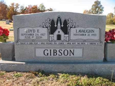 GIBSON, SR, LOYD ELBERT - Cross County, Arkansas   LOYD ELBERT GIBSON, SR - Arkansas Gravestone Photos
