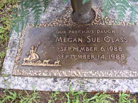 GLASS, MEGAN SUE - Cross County, Arkansas | MEGAN SUE GLASS - Arkansas Gravestone Photos