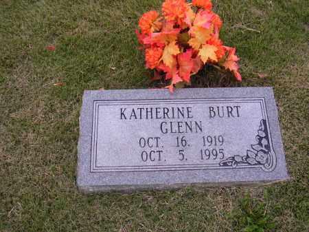 GLENN, KATHERINE BURT - Cross County, Arkansas | KATHERINE BURT GLENN - Arkansas Gravestone Photos