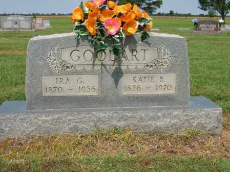 GOODART, IRA G - Cross County, Arkansas   IRA G GOODART - Arkansas Gravestone Photos
