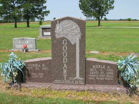 GOODART, MERLE A - Cross County, Arkansas | MERLE A GOODART - Arkansas Gravestone Photos