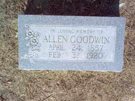 GOODWIN, ALLEN - Cross County, Arkansas | ALLEN GOODWIN - Arkansas Gravestone Photos