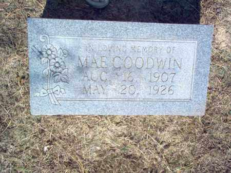 GOODWIN, MAE - Cross County, Arkansas | MAE GOODWIN - Arkansas Gravestone Photos