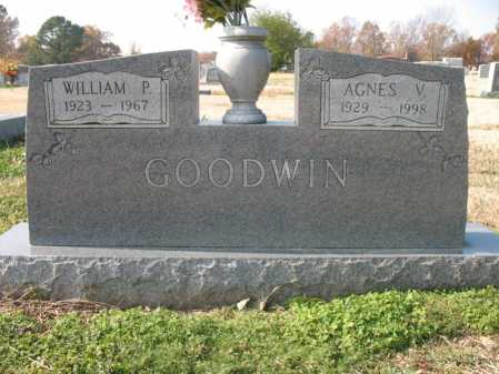 GOODWIN, AGNES VIRGINIA - Cross County, Arkansas | AGNES VIRGINIA GOODWIN - Arkansas Gravestone Photos
