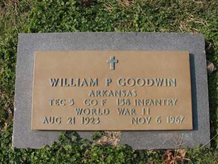 GOODWIN  (VETERAN WWII), WILLIAM PERRY - Cross County, Arkansas | WILLIAM PERRY GOODWIN  (VETERAN WWII) - Arkansas Gravestone Photos