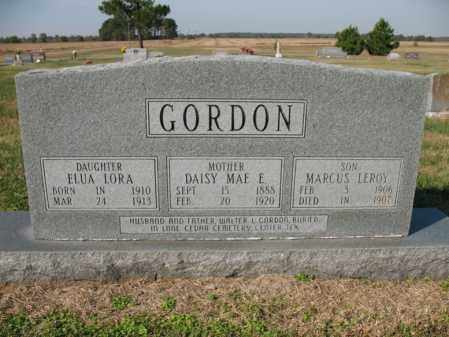 GORDON, DAISY MAE - Cross County, Arkansas | DAISY MAE GORDON - Arkansas Gravestone Photos