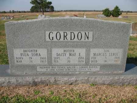 GORDON, DAISY MAE - Cross County, Arkansas | DAISY MAE GORDON - Arkansas Gravestone Photos