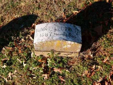 GORDON, MINNIE L. - Cross County, Arkansas | MINNIE L. GORDON - Arkansas Gravestone Photos