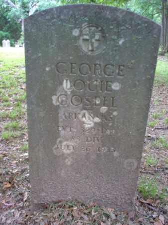 GOSELL (VETERAN), GEORGE LOUIE - Cross County, Arkansas   GEORGE LOUIE GOSELL (VETERAN) - Arkansas Gravestone Photos