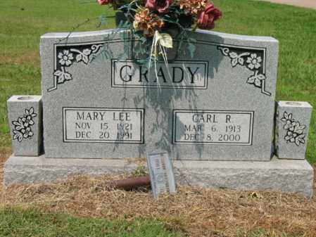 GRADY, CARL R - Cross County, Arkansas | CARL R GRADY - Arkansas Gravestone Photos