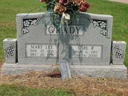 GRADY, CARL R - Cross County, Arkansas | CARL R GRADY - Arkansas Gravestone Photos