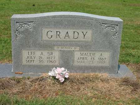 GRADY, MAUDE A - Cross County, Arkansas | MAUDE A GRADY - Arkansas Gravestone Photos