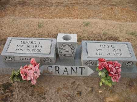 GRANT, LOIS G - Cross County, Arkansas | LOIS G GRANT - Arkansas Gravestone Photos