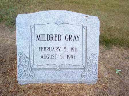 GRAY, MILDRED - Cross County, Arkansas | MILDRED GRAY - Arkansas Gravestone Photos