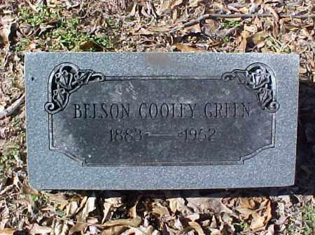 GREEN, BELSON COOLEY - Cross County, Arkansas | BELSON COOLEY GREEN - Arkansas Gravestone Photos
