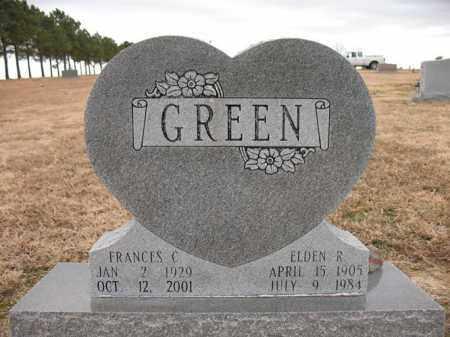 GREEN, ELDEN R - Cross County, Arkansas   ELDEN R GREEN - Arkansas Gravestone Photos