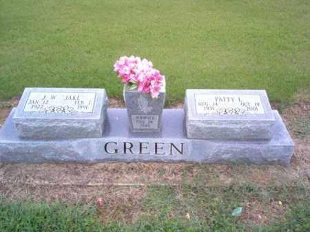 "GREEN, J W ""JAKE"" - Cross County, Arkansas | J W ""JAKE"" GREEN - Arkansas Gravestone Photos"