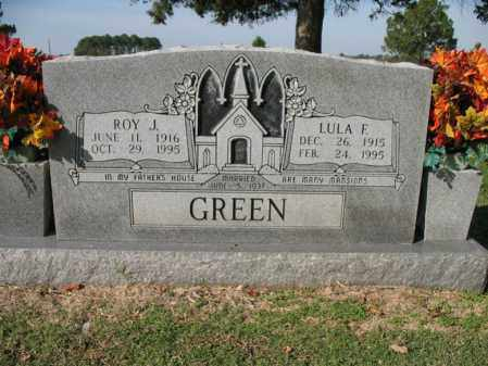 GREEN, LULA F - Cross County, Arkansas | LULA F GREEN - Arkansas Gravestone Photos