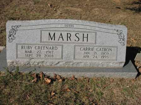 MARSH GREENARD, RUBY - Cross County, Arkansas | RUBY MARSH GREENARD - Arkansas Gravestone Photos