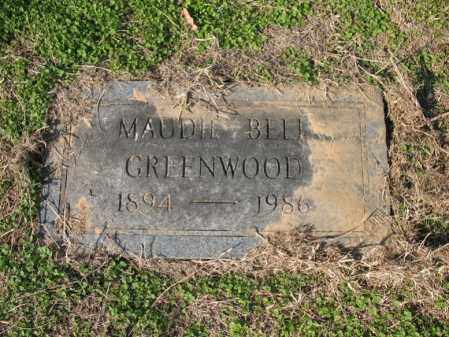 GREENWOOD, MAUDIE BELL - Cross County, Arkansas | MAUDIE BELL GREENWOOD - Arkansas Gravestone Photos