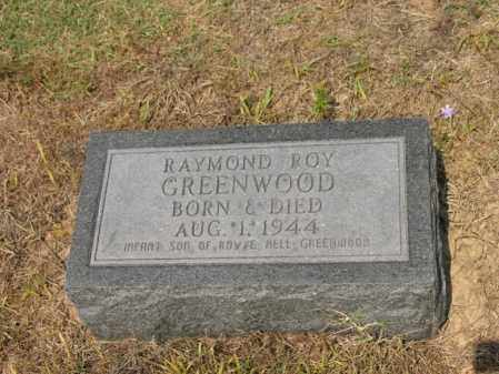 GREENWOOD, RAYMOND ROY - Cross County, Arkansas   RAYMOND ROY GREENWOOD - Arkansas Gravestone Photos