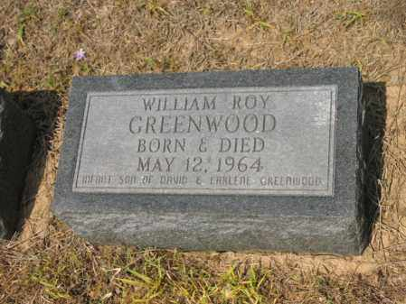 GREENWOOD, WILLIAM ROY - Cross County, Arkansas | WILLIAM ROY GREENWOOD - Arkansas Gravestone Photos
