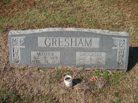 GRESHAM, DAUGHTER - Cross County, Arkansas | DAUGHTER GRESHAM - Arkansas Gravestone Photos