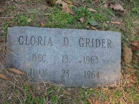 GRIDER, GLORIA D - Cross County, Arkansas | GLORIA D GRIDER - Arkansas Gravestone Photos