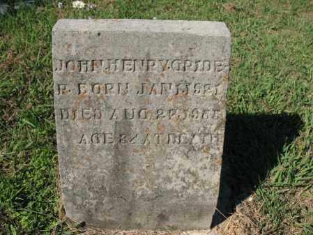 GRIDER, JOHN HENRY - Cross County, Arkansas   JOHN HENRY GRIDER - Arkansas Gravestone Photos