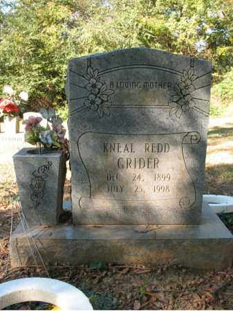 GRIDER, KNEAL - Cross County, Arkansas | KNEAL GRIDER - Arkansas Gravestone Photos