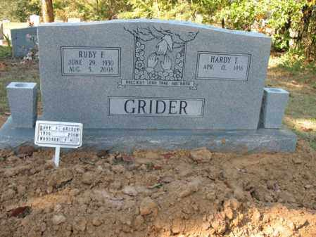 GRIDER, RUBY F - Cross County, Arkansas   RUBY F GRIDER - Arkansas Gravestone Photos