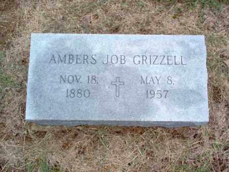 JOB GRIZZELL, AMBERS - Cross County, Arkansas   AMBERS JOB GRIZZELL - Arkansas Gravestone Photos