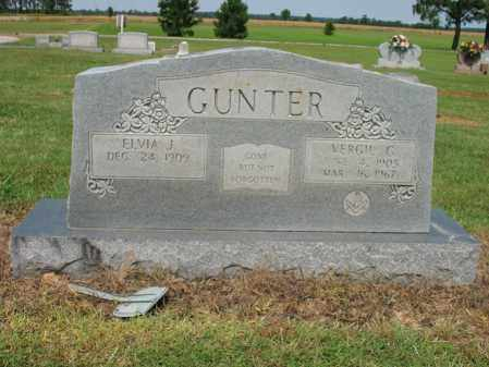 GUNTER, VERGIL C - Cross County, Arkansas | VERGIL C GUNTER - Arkansas Gravestone Photos