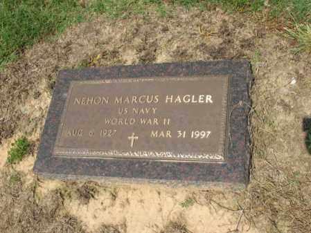 HAGLER (VETERAN WWII), NEHON MARCUS - Cross County, Arkansas | NEHON MARCUS HAGLER (VETERAN WWII) - Arkansas Gravestone Photos