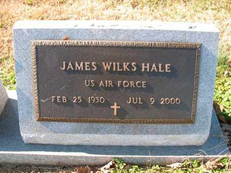 HALE (VETERAN), JAMES WILKS - Cross County, Arkansas | JAMES WILKS HALE (VETERAN) - Arkansas Gravestone Photos
