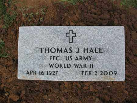 "HALE (VETERAN WWII), THOMAS JAMES ""T J"" - Cross County, Arkansas | THOMAS JAMES ""T J"" HALE (VETERAN WWII) - Arkansas Gravestone Photos"