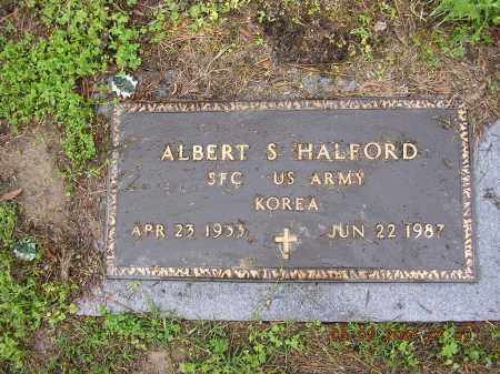 HALFORD  (VETERAN KOR), ALBERT - Cross County, Arkansas   ALBERT HALFORD  (VETERAN KOR) - Arkansas Gravestone Photos