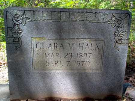 HALK, CLARA - Cross County, Arkansas | CLARA HALK - Arkansas Gravestone Photos