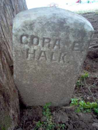 HALK, CORA E - Cross County, Arkansas | CORA E HALK - Arkansas Gravestone Photos