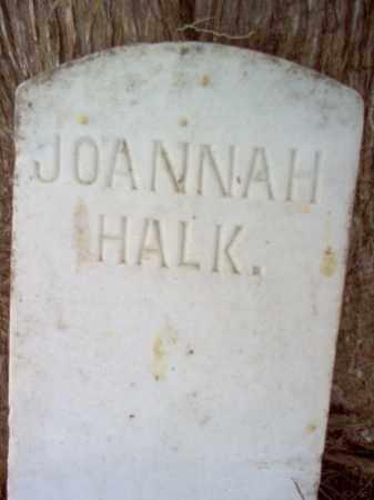 HALK, JOANNAH - Cross County, Arkansas   JOANNAH HALK - Arkansas Gravestone Photos